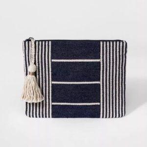 Universal Thread Striped Pouch